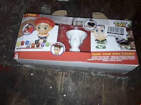 Lot 4095 TOY STORY PAINT YOUR OWN FIGURES  RRP £13.99