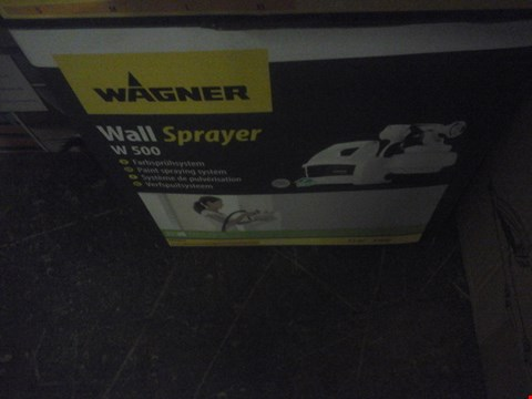 Lot 1079 BOXED WAGNER WALL SPRAYER W500