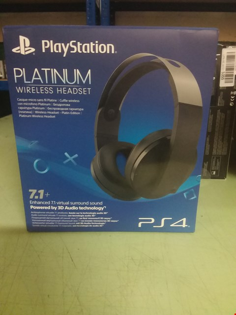 Lot 96 SONY PLAYSTATION PLATINUM WIRELESS STEREO HEADSET