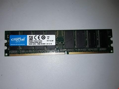 Lot 509 CRUCIAL DDR4 32GB MEMORY