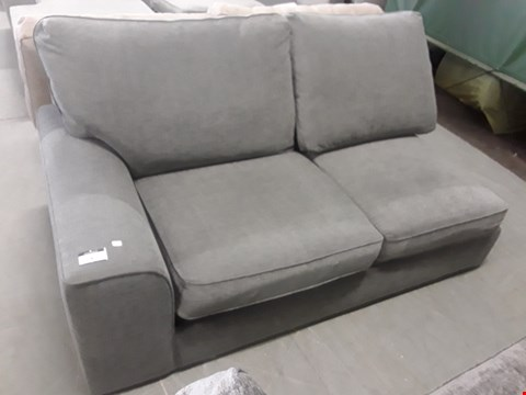 Lot 3 STAMFORD GREY FABRIC SOFA BED SECTION