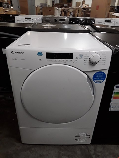 Lot 18 CANDY CSC9DF-80 9KG SMART TOUCH DRYER IN WHITE