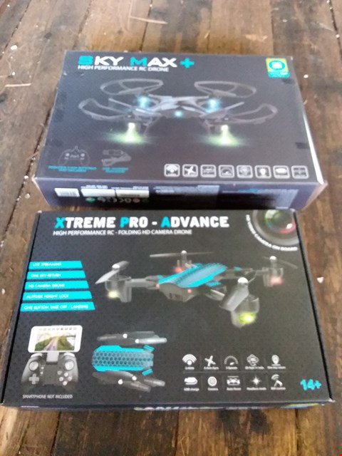 Lot 631 LOT OF 2 X BOXED HIGH PERFORMANCE R/C DRONES