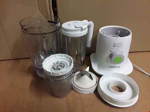 Lot 3100 KENWOOD BLEND EXTRACT FOOD PROCESSOR