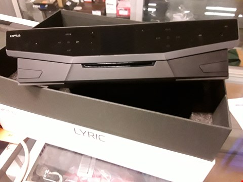 Lot 108 CYRUS LYRIC STEALTH STREAMING SYSTEM WITH BLUETOOTH RRP £999.99