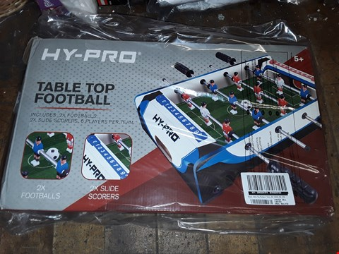 Lot 5057 BOXED 20 INCH TABLE TOP FOOTBALL TABLE  RRP £24.99