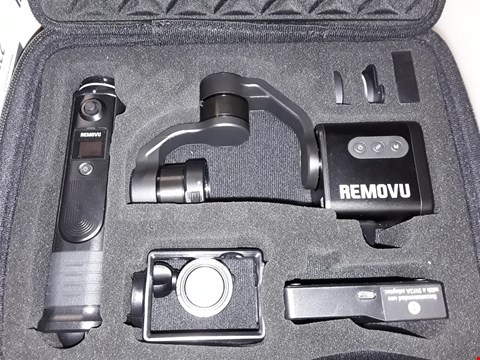 Lot 237 REMOVU S1 SMART GIMBAL STABILIZER FOR GO PRO