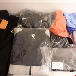 Lot 4307 BOX OF APPROXIMATELY 37 ASSORTED ITEMS TO INCLUDE ARMANI, NIKE, LACOSTE ETC