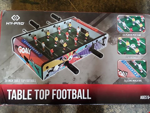 Lot 73 20INCH TABLE TOP FOOTBALL TABLE RRP £25