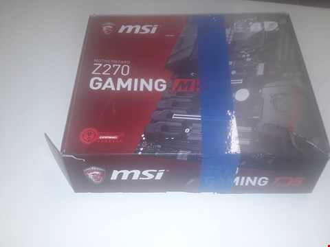Lot 1023 BOXED MSI Z270 GAMING MOTHERBOARD