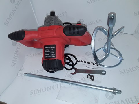 Lot 52 ELECTRIC HAND MIXER IN RED - MODEL: XY-168