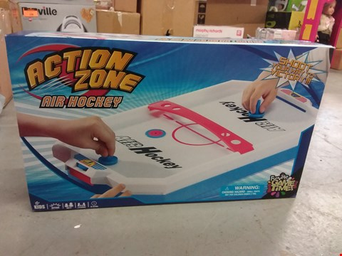 Lot 1499 BRAND NEW ACTION ZONE AIR HOCKEY  RRP £22.99