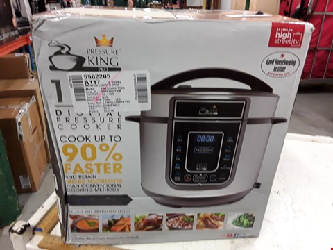 Lot 3011 PRESSURE KING SC-40S DIGITAL PRESSURE COOKER