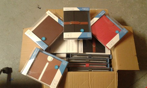 Lot 11513 BOX OF APPROXIMATELY 20 ASSORTED PROTECTIVE TABLET CASES