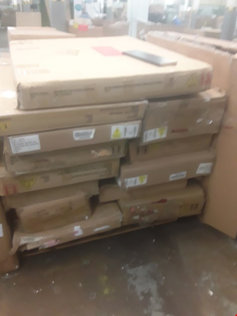 Lot 574 A LARGE PALLET OF ASSORTED FLATPACK FUNTIURE PARTS
