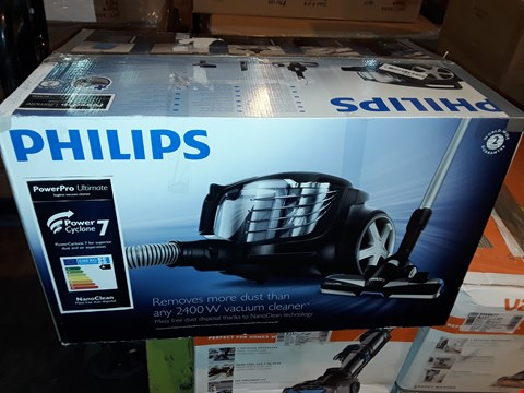 Lot 1039 PHILLIPS POWERPRO 2400W VACUUM CLEANER