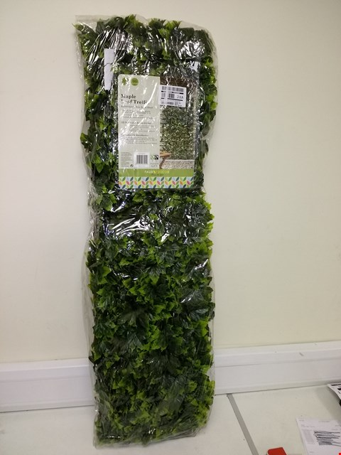 Lot 9190 SMART SOLAR MAPLE LEAF 180 X 90CM TRELLIS RRP £44.99