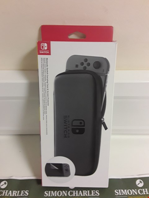 Lot 1193 NINTENDO SWITCH ACCESORY SET CARRYING CASE  RRP £23.00