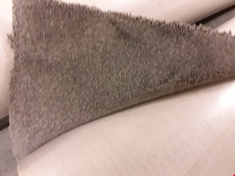 Lot 233 ROLL OF FIRST IMPRESSIONS CONFIDENT GREY CARPET APPROXIMATELY 5M × 5.2M