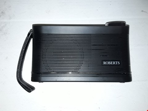 Lot 12153 ROBERTS RADIO STREAM104 PORTABLE DAB/DAB+/FM/WI-FI INTERNET RADIO WITH MUSIC PLAYER - BLACK