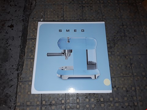 Lot 5143 GRADE 1 SMEG ESPRESSO COFFEE MACHINE RRP £450.00