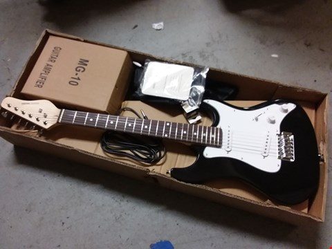 Lot 947 ROCKET 3/4 ELECTRIC GUITAR - BLACK