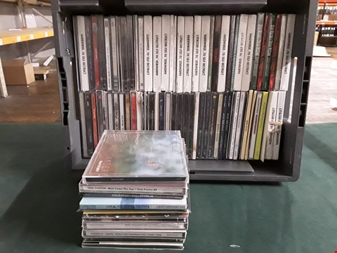 Lot 42 BOX OF APPROXIMATELY 75 ASSORTED CD'S TO INCLUDE TOM PAXTON, FLEETWOOD MAC, MUSE ETC