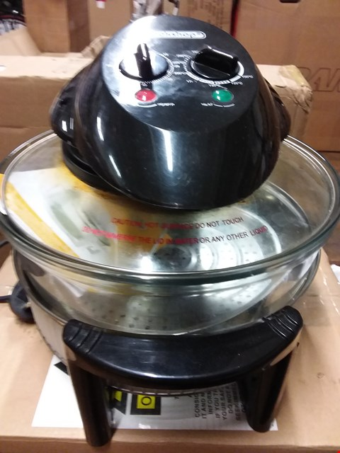Lot 10103 LOT OF 2 ASSORTED TO INCLUDE COOKSHOP 17L HALOGEN OVEN, LEG MASTER ELITE LEG MACHINE
