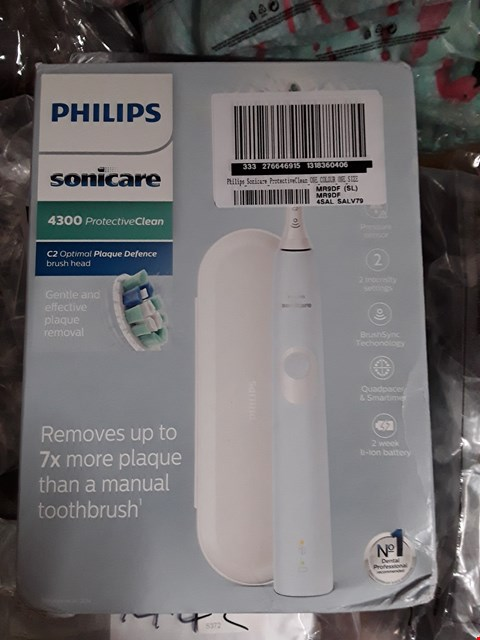 Lot 1444 BRAND NEW PHILIPS SONICARE PROTECTIVE CLEAN 4300 TOOTH BRUSH RRP £230