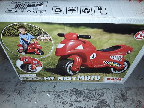 Lot 164 BOXED MY FIRST MOTO RRP £37.99