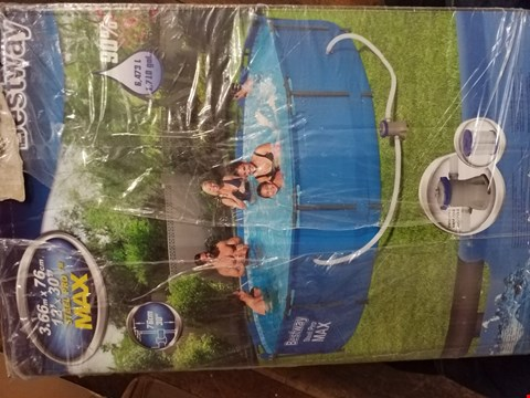 Lot 3386 BESTWAY 12FT STEEL PRO MAX POOL RRP £210.00