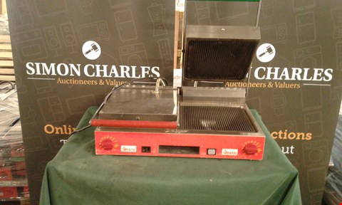 Lot 78 SIRMAN PANINI GRILL COMMERCIAL