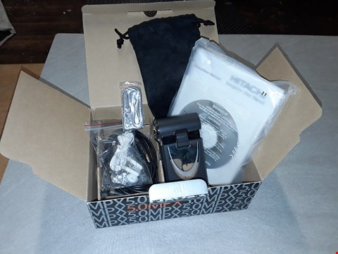 Lot 6017 HITACHI STYLE 5MP HANDHELD CAMCORDER WITH 4X ZOOM