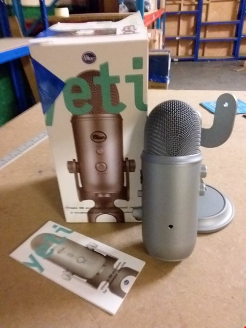 Lot 1000 BLUE MICROPHONES YETI USB MICROPHONE