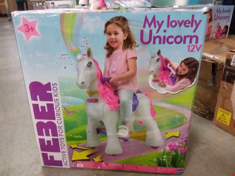 Lot 2022 FEBER MY LOVELY UNICORN RRP £253