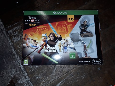 Lot 9080 DISNEY INFINITY STAR WARS STARTER PACK - XBOX ONE