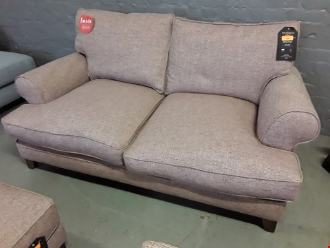 Lot 368 QUALITY BRITISH DESIGNER BRIONY 2.5 SEATER SOFA UPHOLSTERED IN URBAN TWEED ROSE GARDEN FABRIC RRP £1079