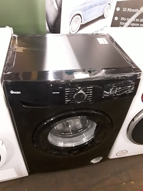 Lot 11 SWAN SW15810B 1200 SPIN BLACK WASHING MACHINE  RRP £279.99