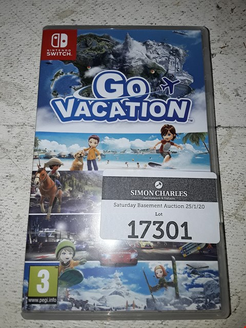 Lot 17301 GO VACATION FOR NINTENDO SWITCH