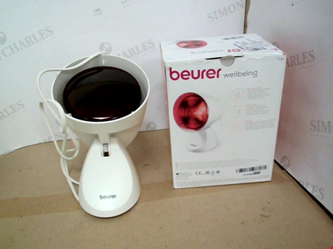Lot 11344 BEURER IL21 150W POWERFUL INFRARED LAMP