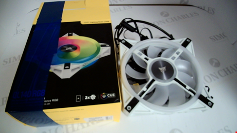 Lot 17151 CORSAIR QL140 RGB PERFORMANCE RGB FAN KIT