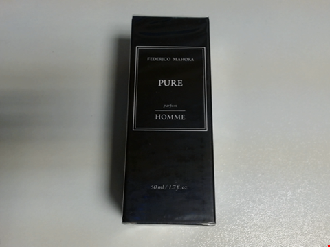 Lot 6447 BOXED FEDERICO MAHORA PURE PARFUM HOMME 50ML - SEALED