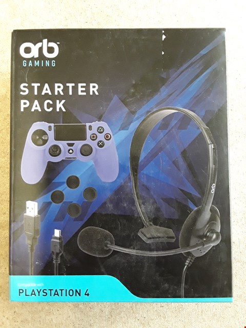 Lot 99 BRAND NEW BOXED ORB PS4 STARTER PACK