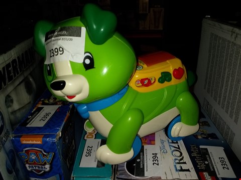 Lot 2399 LEAPFROG STEP AND LEARN RRP £32.00