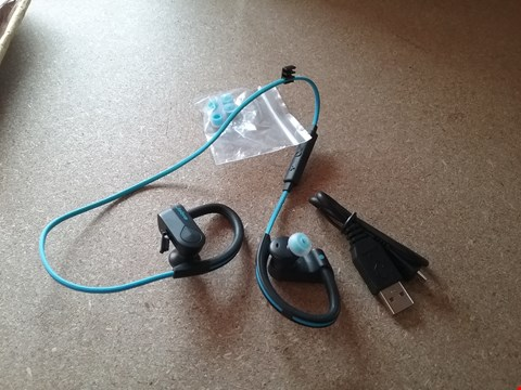 Lot 11146 HAVE A SPORTS STYLE EARPHONES - BLUE