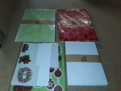 Lot 4005 PALLET OF APPROXIMATLEY 259 BRAND NEW CREATE AND CRAFT FANCY FLOCKING CHRISTMAS KITS