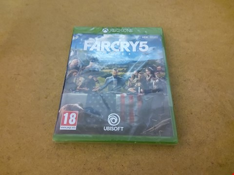 Lot 2578 XBOX ONE FARCRY 5 GAME