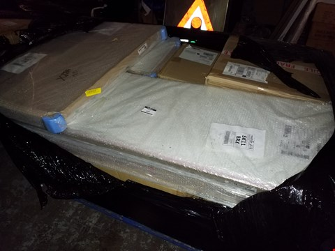Lot 10266  PALLET OF APPROXIMATELY 12 ASSORTED ITEMS OF GRADE 1 FLAT PACK FURNITURE ITEMS TO INCLUDE: RRP £1709.88