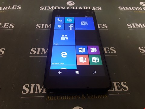 Lot 1724 MICROSOFT LUMIA 550 WINDOWS SMARTPHONE