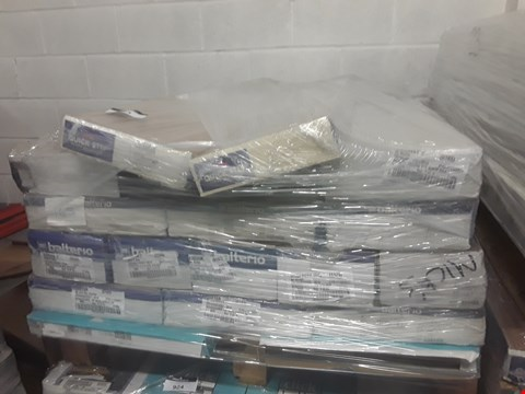 Lot 923 PALLET OF APPROXIMATELY 20 PACKS OF ASSORTED LAMINATE FLOORING